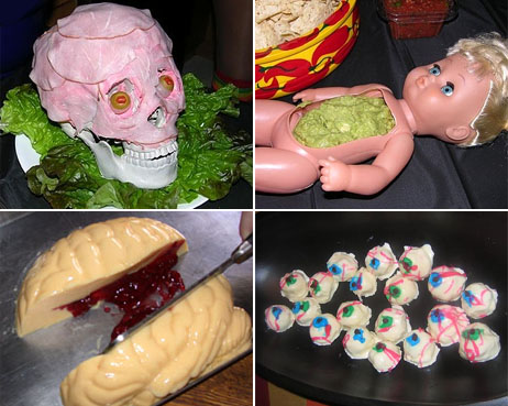 halloween party food topper