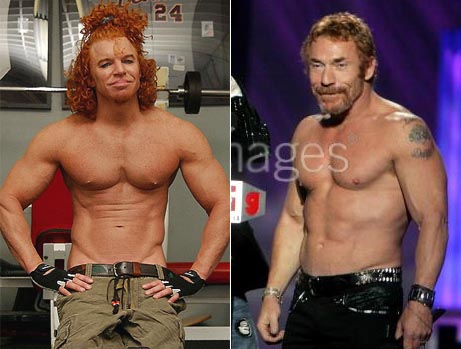 Does Carrot Top Put Foundation On His Nipples
